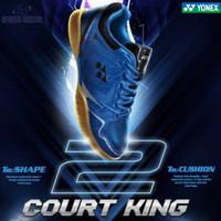 Special Price Sepatu Badminton Yonex Court King 2 Royal Blue / Black