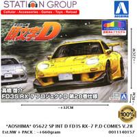 AOSHIMA 05622 SP INITIAL D TAKAHASHI KEISUKE FD3S RX-7 PROJECT D COMIE