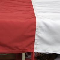 bendera merah putih 80x120cm bahan katun