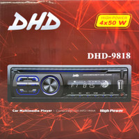 Single din Headunit DVD Player DHD-9818, USB, Radio, Bluetooth