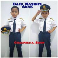 Baju Kostum Seragam Karnaval Anak Profesi Masinis