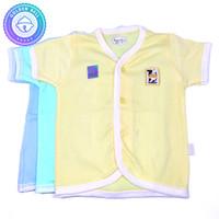 Baju Lengan Pendek Bayi Warna Hachi 3 Pcs
