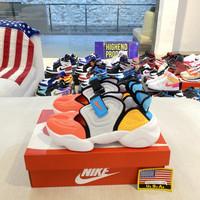 Sepatu Nike Aqua Rift Orange Blue Women 100% Original CW7164-002