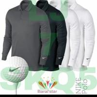 tshirt baju kaos kerah lengan panjang Nike Golf - Premium Quality