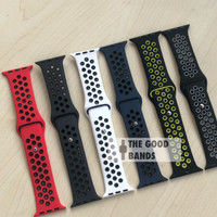 Strap Apple Watch Series 6 40mm 44mm NIKE Sport Band Rubber Sillicone