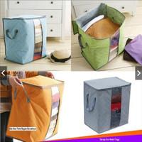 Storage Bag Tinggi / Organizer Baju Tegak / bamboo storage box