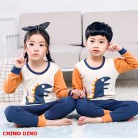 PJ071-chinodino Piyama Anak Laki-laki Couple Impor 2 -10 tahun