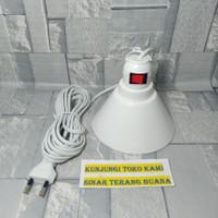 Fitting Lampu Gantung Kabel 5Meter Free Kedudukan Box Rumah Lampu