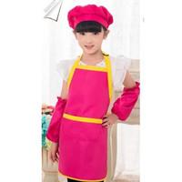 Baju Chef Apron Celemek Anak