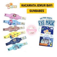 Sunbabes Ultra Soft Baby Eye Mask Sun Babes Kacamata Jemur Bayi