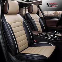 Sarung Jok Mobil terios/Rush Bahan Kulit Sintetis Bisa Reques Motif