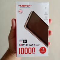 Powerbank Mofit M12 10.000 mAh