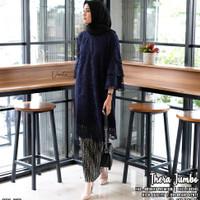 baju atasan kebaya wanita thera super jumbo muslim modern unik modis