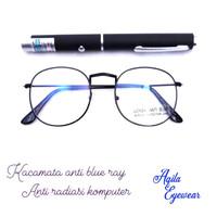 Kacamata anti blue ray /anti radiasi komputer