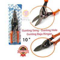 Gunting Seng Hollow Baja Ringan Merk EIFFEL 10 Inch 25 cm