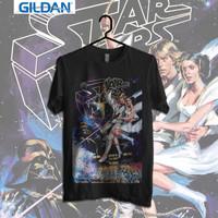 Classic Poster Kaos Starwars|kaos retro | Kaos Movie