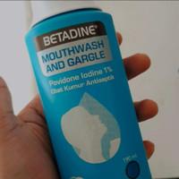 Betadine Obat Kumur Antiseptik 190 ml