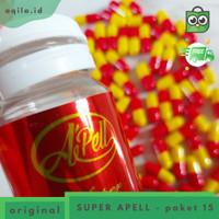 PAKET APELL SUPER 15 - pelangsing badan cepat dan ampuh herbal BPOM