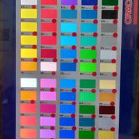 Bahan Stiker Cutting Transparan Oracal - Bahan Stiker Cutting Neon Box