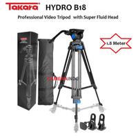 Tripod TAKARA HYDRO B18 Professional Video Tripod with Super Fluid Hea