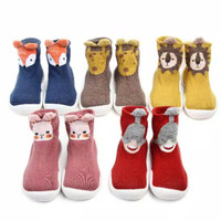 Skidder prewalker shoes Premium/sepatu bayi alas karet/1100ANIMAL0000 - Merah, 22-23