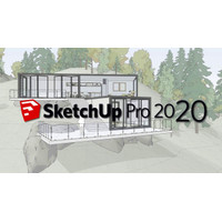 SketchUp Pro 2020 + V-RAY [Windows 64Bit] [Latest Version] DVD