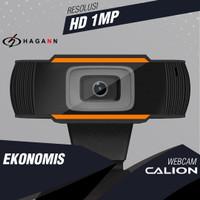 Webcam 1MP HD 720P USB with Microphone for PC Laptop Desktop Komputer
