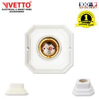 VETTO Fitting Plafon Lampu - Segi 4