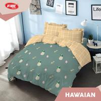 Kintakun D'Luxe Bed Cover size 160x200 cm - Hawaian