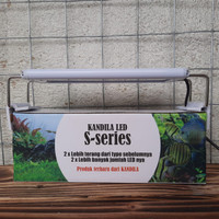 Lampu Led Kandila S-200 Lampu Aquascape Aquarium 20-30 cm