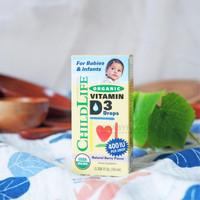 Childlife Organic Vitamin D3 DROPS Natural Berry Flavor 400 IU 10 ml