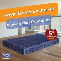 Promo Kasur Busa Royal Foam Grand Exclusive (Free Bantal & Guling)