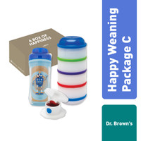 Dr. Brown's Happy Weaning Package C / Giftset Bayi