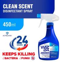 disinfectant spray wiz24 450 ml