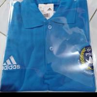 tshirt baju kaos kerah Adidas PSSI bordir BIG SIZE 3XL & 4XL