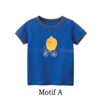 Baju bayi lucu / Baju bayi laki laki / Kaos Bayi / Kaos Anak - Motif A