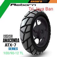 Ban Kingland 100/90-12 TL.Anaconda ATX-7/Ban Dpn Scoopy f1 & Freego