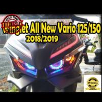 variasi motor Winglet variasi All new vario 125 150 LED 2018 aksesoris