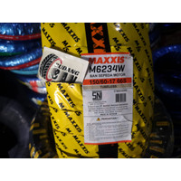 Ban Maxxis 150 / 60 - 17 extramaxx M6234 66S import kuning ninja moge