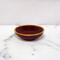 Artisan Ceramic   Red Reactive Sauce Dish D: 7 cm