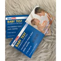 Baby Test Onemed Strip - Alat Tes Uji Masa Kesuburan Ovutest