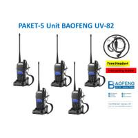 PAKET 5 UNIT HT Baofeng UV-82 Sudah Terkoneksi dengan Baik