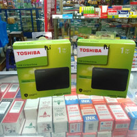Hardisk external Toshiba canvio basics 1 TB USB 3.0 ORIGINAL