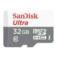 SanDisk Ultra 100MBps microSD Card Class 10 - 32GB - QUNR