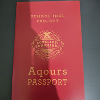 Aqours Passport Love Live sunshine