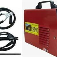 Mesin Travo Las listrik inverter Rhino 120A merah 900 watt