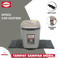 Tempat Sampah Mobil / Tempat Sampah Mini / Car Dustbin Persegi