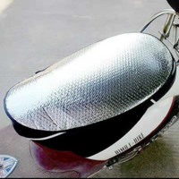 Pelindung Jok Sepeda Motor Anti Panas Cover Jok Tabir Surya Motor