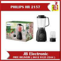 Philips Blender HR 2157 Tritan Jar - Hitam - Blander philips HR2157/90