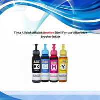 Tinta Alfaink Alfa ink Brother 90ml For use All printer Brother inkjet